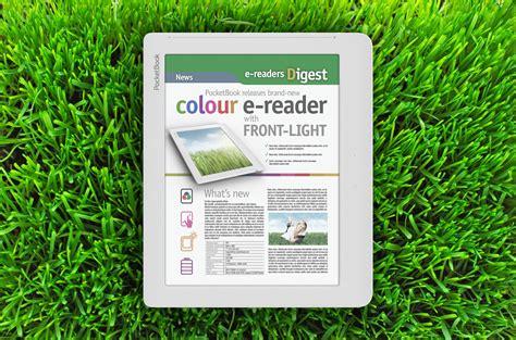 color e ink pocketbook to make 8 quot color e ink ereader with frontlit