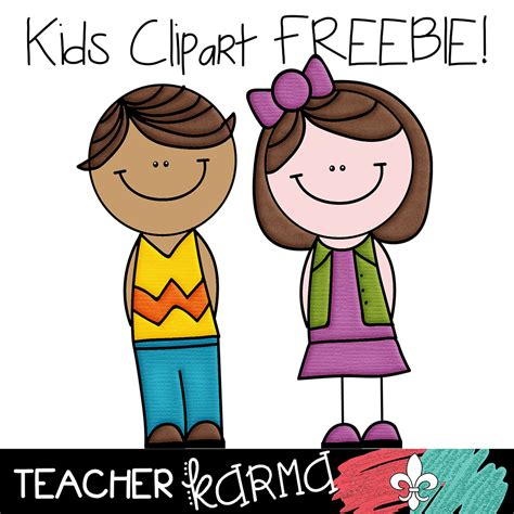 2 Free Kids Student Clipart  Teacher Karma