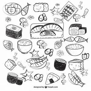 Dibujos de alimentos Descargar Vectores gratis