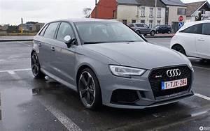 Reparaturanleitung Audi A3 8v : audi rs3 sportback 8v 2018 10 march 2018 autogespot ~ Jslefanu.com Haus und Dekorationen