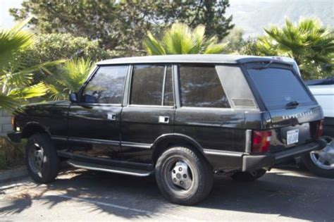 Find Used 1992 Range Rover Classic County In Carpinteria