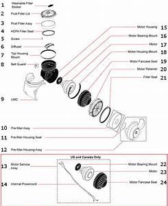 Parts List For Dyson Dc07
