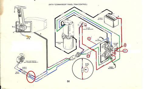 Mercury Solenoid Wiring by Mercruiser Trim Solenoid Wiring Diagram Yahoo Image