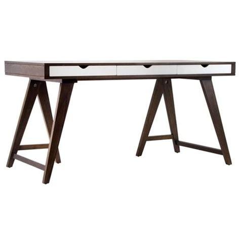 scrivania con cavalletti scrivania cavalletti wenge legno scrittoio gambe massello