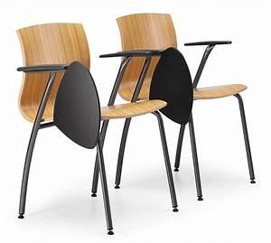 Stuhl Mit Schreibplatte : stuhl aus metall und sperrholz mit schreibplatte idfdesign ~ Frokenaadalensverden.com Haus und Dekorationen