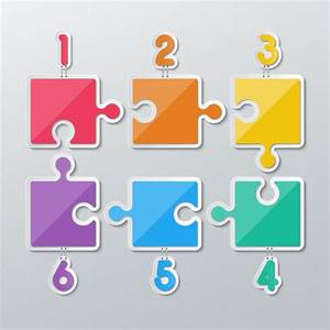 Color puzzle piece Vector | Free Download
