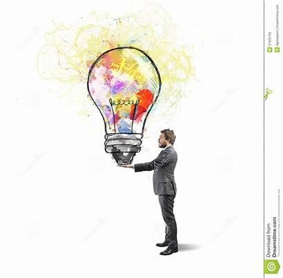 Idea Creative Creativa Businessman Bedrijfsidee Creatief Affari
