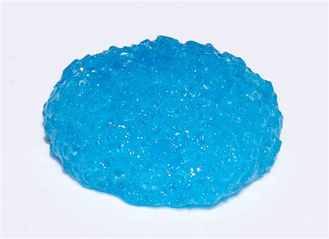Crunchy Fishbowl Slime With Glitter Blue Fishbowl Pink