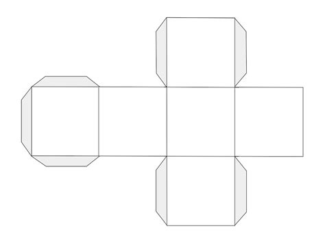 Dice Template Pin Dice Template Printable On