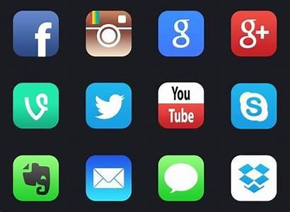 Social App Icons Ios Using Icon Google