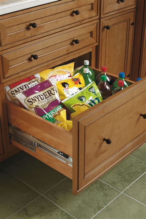 deep drawer base cabinet schrock cabinetry