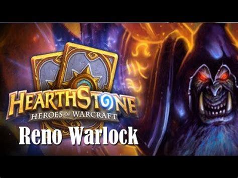 Hearthstone  Reno Warlock Deck  Simple Cheap Deck For