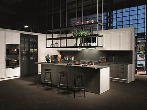 factory kitchen with island without handles factory kitchen with island aster cucine 1883