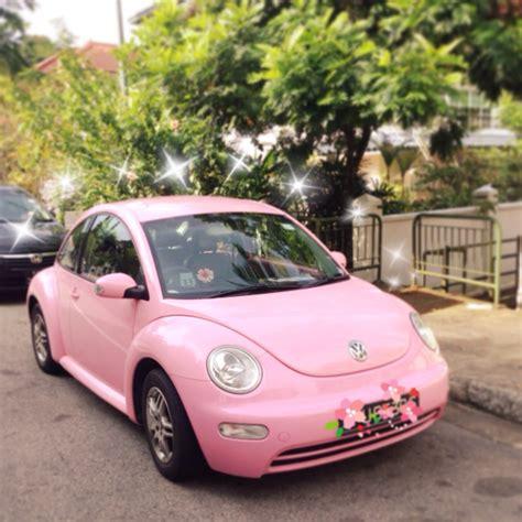 used pink volkswagen beetle pink volkswagen beetle for rent