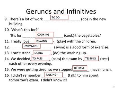 Wish & Gerunds And Infinitives