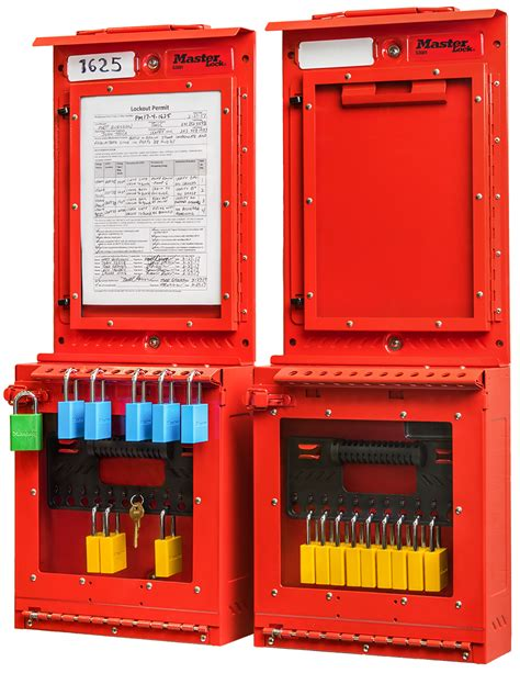 Safety Solutions Permit Control Station Master Lock