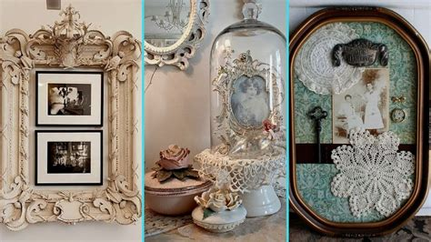 diy rustic shabby chic style photo display ideas home