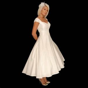 Tea length wedding dresses for older brides for Tea length wedding dresses for older brides