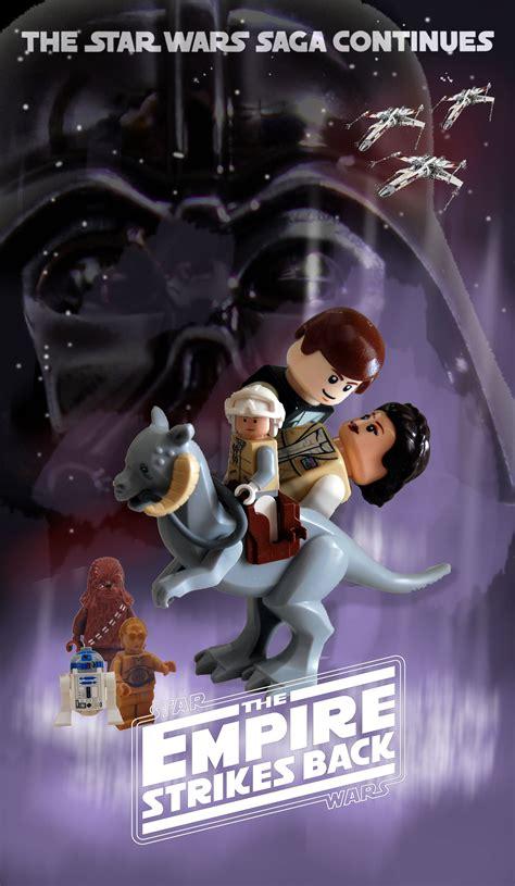 Lego Star Wars The Empire Strikes Back Posterreggies Takecom