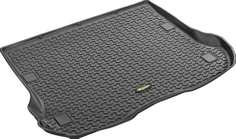 Quadratec All Weather Floor Mats by Quadratec Exclusive Ultimate All Weather Rear Cargo Liner