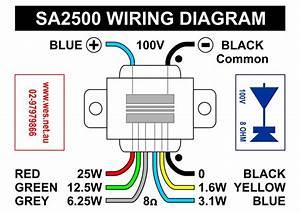 70 Volt Speaker Transformer Wiring  70  Free Engine Image