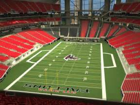 Mercedes-Benz Atlanta Falcons Stadium Seats