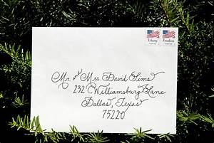 wedding calligraphy envelopes custom handwritten place With wedding invitation envelope handwriting