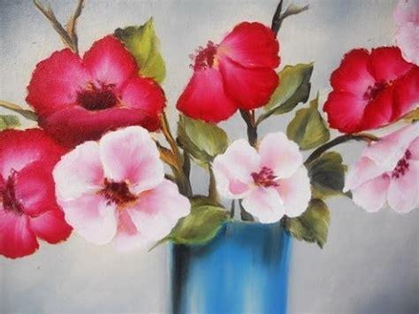 como pintar flores en 211 leo pinceladas mongelos
