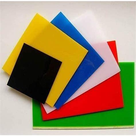 acrylic sheet at rs 65 square meter acrylic glass sheet