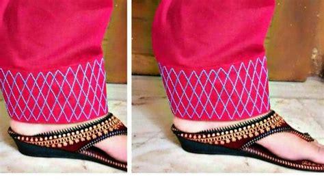 beautiful salwars mohri design stitching simple craft ideas