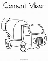 Cement Coloring Truck Mixer Pages Printable Library Crafts Tractor Clipart Mixers Popular Connect Dots Coloringhome Getcolorings Clip Twistynoodle sketch template