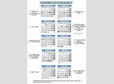 Calendario Escolar Málaga 2017