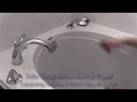 add shower to bathtub faucet delta bathtub faucet classic tub with shower