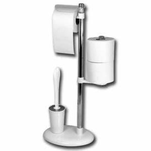 Toilettenpapierhalter Stehend Design : toilettenpapierhalter b rstenhalter wc garnitur rollenhalter b rstengarnitur neu ebay ~ A.2002-acura-tl-radio.info Haus und Dekorationen