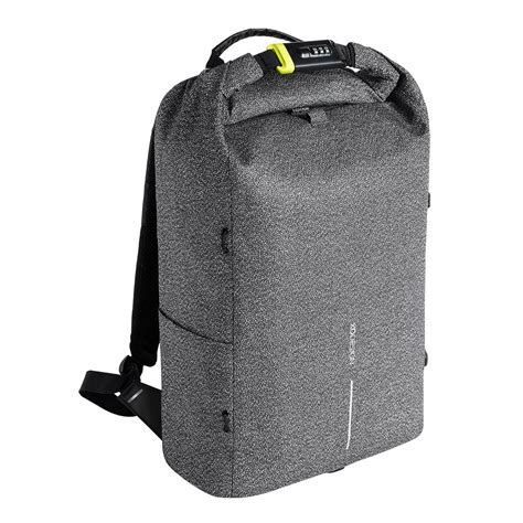 xd design bobby urban anti theft cut proof backpack grey
