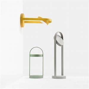 Tischlampe Mit Batterie : giravolta f r bars und restaurants tischlampe aus aluminium und technopolymer kabellos mit ~ Buech-reservation.com Haus und Dekorationen