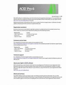 Sony Acid Pro 6 Software Download Manual For Free Now