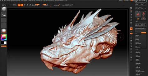Smaug Speed Modeling In Zbrush