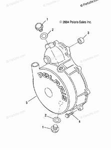 Polaris Side By Side 2004 Oem Parts Diagram For Flywheel