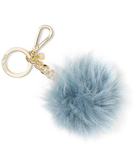 michael michael kors fur pom pom keychain handbags