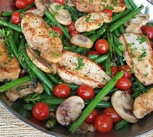 balsamic chicken tenders w veggies clean food crush