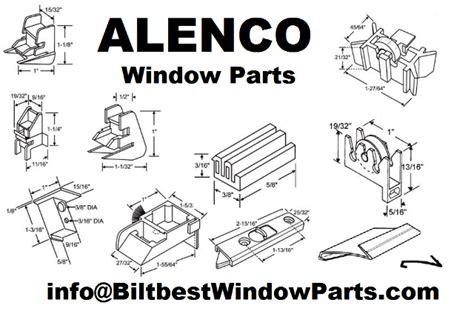 alenco window parts brass wheel slider glider roller assembly biltbest window parts