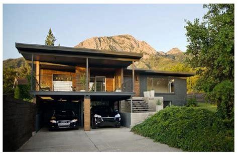desain garasi  carport rumah minimalis imania