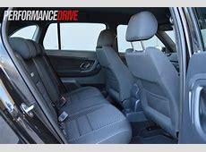 2012 Skoda Fabia RS Wagon rear seat