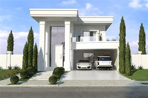 neoclassical house plan plans  houses models