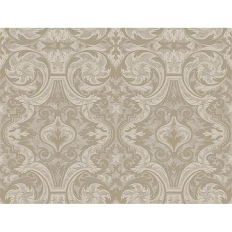 evans brown guinevere grey baroque marquetry wallpaper