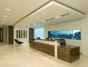 Interior Design Office Reception Area Captivating Wall ...