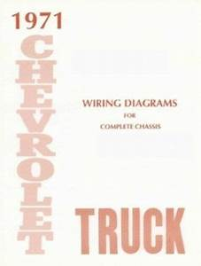 Chevrolet 1971 Truck Wiring Diagram 71 Chevy Pick Up