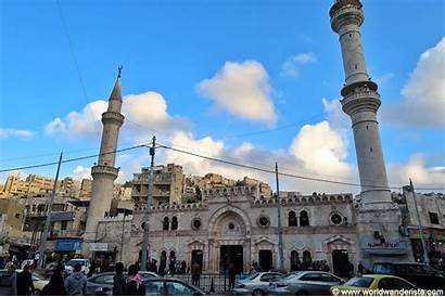 Mosque Amman Grand Husseini Jordan