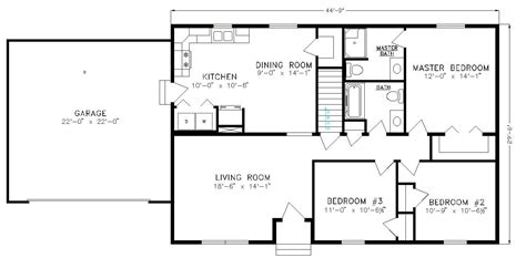 simple ranch floor plans and noname
